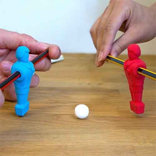 Pencil Soccer Erasers