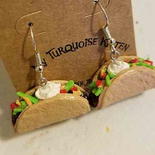 Tacos Earrings
