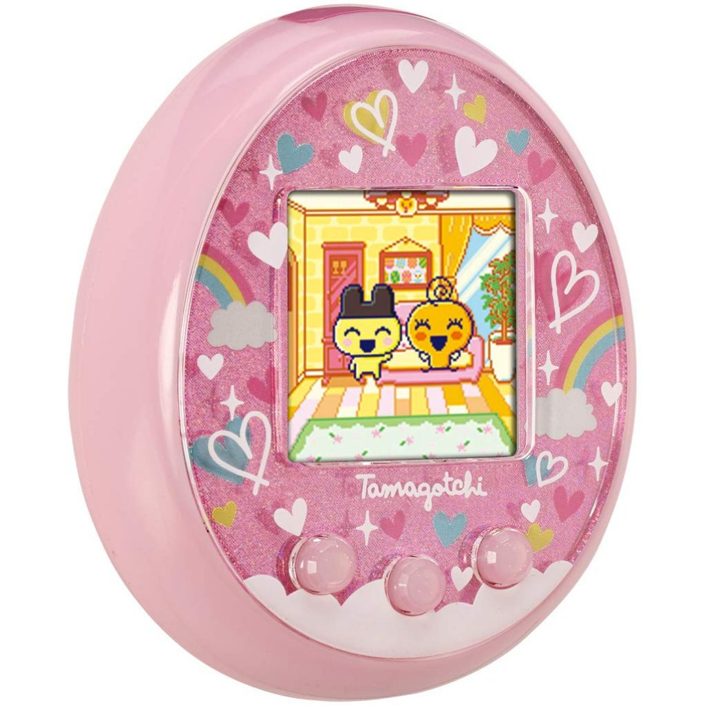 Tamagotchi On Virtual Pet in color pink