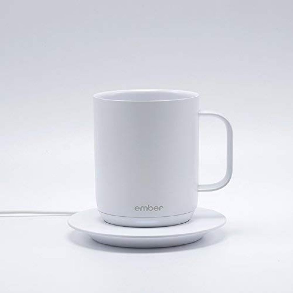 Temperature Control Ceramic Mug in white