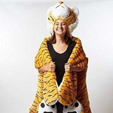 Adult Tiger Sleeping Bag