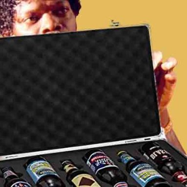 Beer Carrying Briefcase
