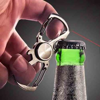 Fidget Spinner Bottle Opener