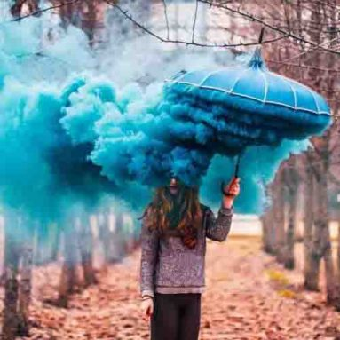 Colored Smoke Grenades