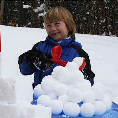 Perfect Snowball Maker